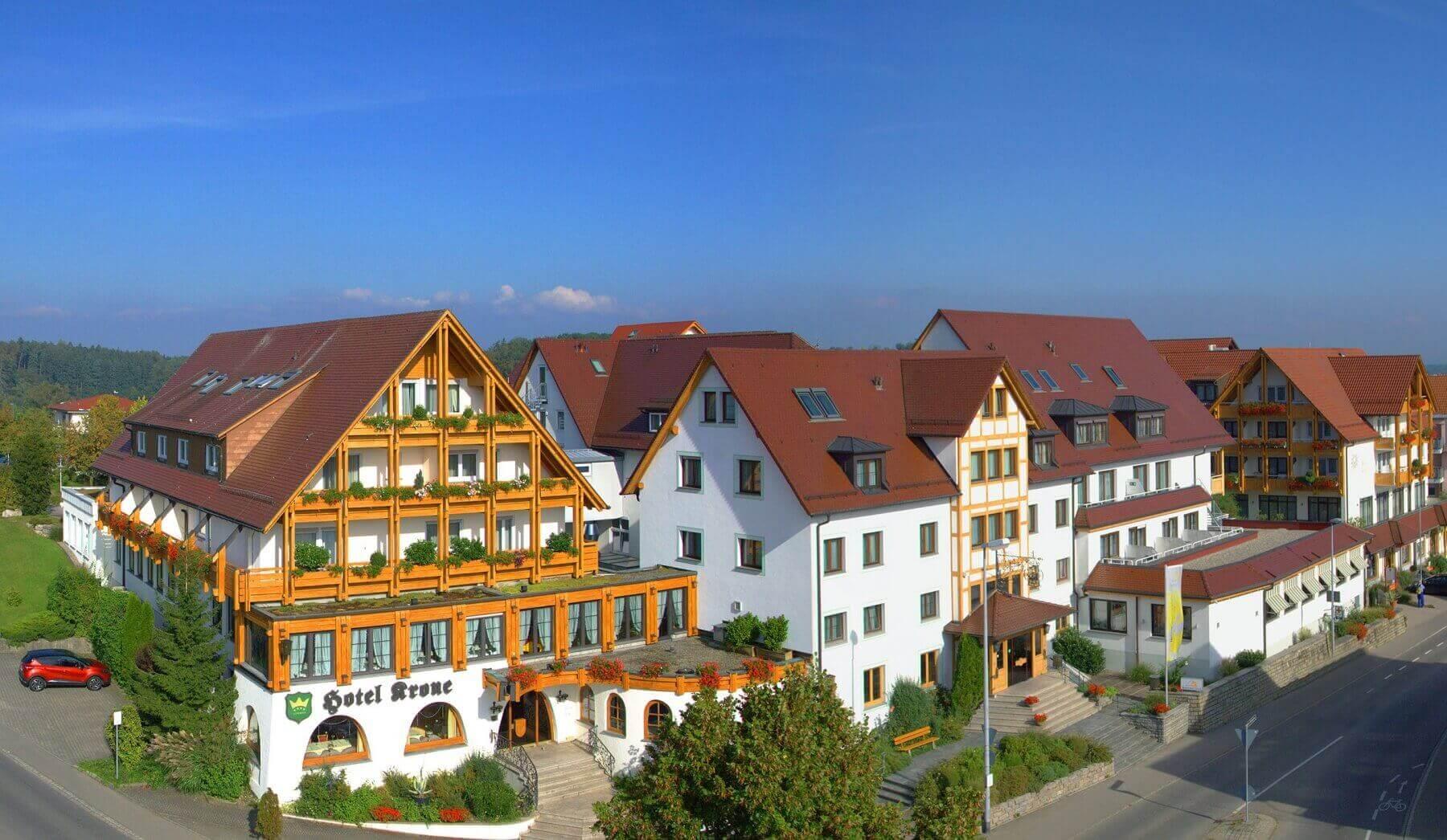 Hotel am Bodensee Wellnesshotel Friedrichshafen - Ringhotel Krone in Schnetzenausen bei Friedrichshafen am Bodensee.